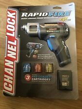 Channellock Rapid Fire Quick Loading Power Screwdriver Drill Cartridges & Bits