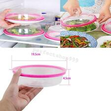 Plate Topper Universal Leftover Lid Microwave Cover Airtight Fridge Kitchen GOOD