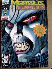 MORBIUS Il Vampiro contro L' Uomo Ragno n°1 1993 Comic Art  [SP3]