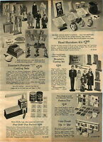1965 ADVERT Emenee Formax Toy Monster Dracula Mummy Casting Set Muster Family