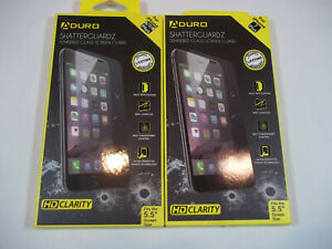 iPhone 6/7/8 Plus Tempered Glass Screen Protector - Shatterguardz Anti-Scratch