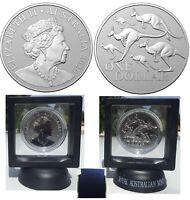 2020 $1 1oz Silver Frosted UNC Coin Kangaroo Series Red Kangaroo in frame & Box
