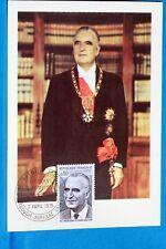 GEORGES POMPIDOU   FRANCE CPA Carte Postale Maximum  Yt 1839 C BIS