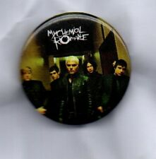 MY CHEMICAL ROMANCE  BUTTON BADGE - AMERICAN ROCK BAND - BLACK PARADE 25mm PIN