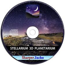 New & Fast Ship! Stellarium Real Time 3D Planetarium - Astronomers Telescope Pc