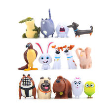 The Secret Life Of Pets Max Snowball Gidget Action Figure Toys Xmas Gift 14PCS