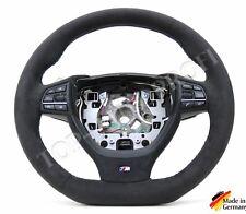 BMW F01 F02 F10 F11 F07 F12 F13 M mit Wippen Lenkrad mi Alcantara neu beziehen