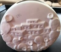 Oasis Ceramic Bisque Adobe Clock Ready to Paint