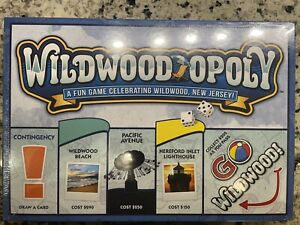 Wildwood Opoly Monopoly Board Game Famous New Jersey Shore
