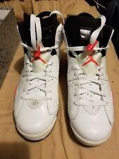 Air Jordan Retro ii vi vii viii ix x xi xii xiii 6 White Infrared DS Size 9 2015