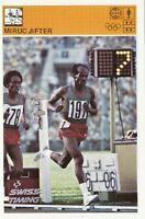 Trading card athletics Miruts Yifter Ethiopia World of sport Yugoslavia 1980