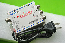 20dB 1 In 3 8620D3 TV Signal Amplifier CATV Adjustable Cable