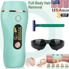 999999 IPL Laser Hair Removal Epilator Permanent Body Electric Machine Face US