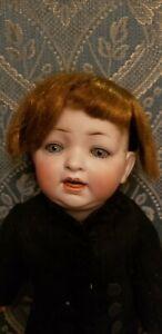 """ANTIQUE MOLD 152 HERTEL SCHWAB BISQUE CHARACTER BABY TODDLER BOY 15"""""""