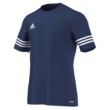 Entrada 14 adidas Training Shirt Men Climalite Short Sleeves M Medium Navy - F50487