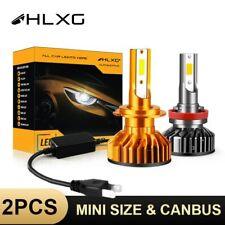 HLXG Mini Canbus lampada H4 H7 LED Car Headlight 10000LM 4300K 6000K 8000K Lamp