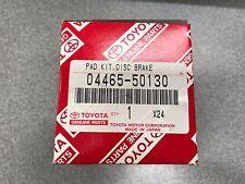 LEXUS GENUINE LS400 UCF10 FRONT BRAKE PADS SET 0446550130