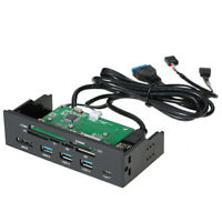 "5.25""inch Internal Card Reader Media Dashboard PC Front Panel Type-C USB3.1 U3L2"