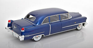1956 Cadillac Serie 75 Limousine Blue metallic by GLM Models LE of 199 1/18 New!
