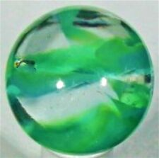 "Vitro Cat's Eye Green/Blue 19/32"" Mint Marble L3538V"