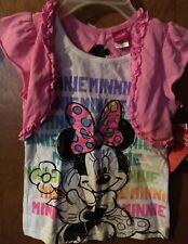 Girls Minnie Mouse Top Size 6X NWT