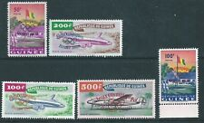Guinea - 1960 Olympic Overprints - Un-mounted mint set