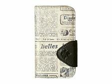 "NWT PATRICIA NASH ""Newspaper Print Collection Brenna IPhone X Case folio"