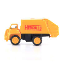 1:64 Alloy Car Garbage Truck Construction Vehicles Metal Toy For Kids Boys
