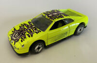 1995 Hotwheels Ferrari 348 Flour Green Yellow Power loop Trackset, Very Rare!