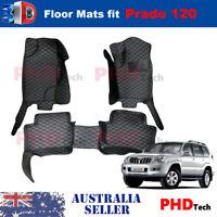 Premium Quality Tailored 3D floor mats for Toyota Land Cruiser Prado 120 2002-09