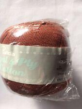 Panda Regal Cotton 4 PLY 50g BROWN #12 Dye Lot 200