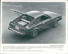 1977 Plymouth Arrow Hatchback View Original News Service Photo