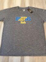 Champion Elite Men's UCLA Bruins Athletic Workout Shirt 2XL XXL Gray 8-Clap