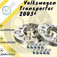 VOLKSWAGEN T5 2003-2015 5x120 65.1 20mm Hubcentric Aleación Espaciador De Rueda