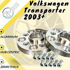 2 x 15 mm Lega Ruota Hubcentric Distanziatori adatto per VW Transporter T5 T28 T30 T32