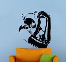 Catwoman Wall Vinyl Decal Sticker Comics Superhero Atr Home Wall Decor (007cw)