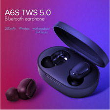 AS6 Wireless 5.0 Bluetooth Earphone Earbud Headset For iPhone Samsung Android LG