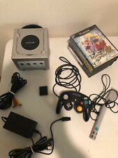 Nintendo GameCube Console with 8 games - Smash Bros, Animal Crossing, Res Evil 4