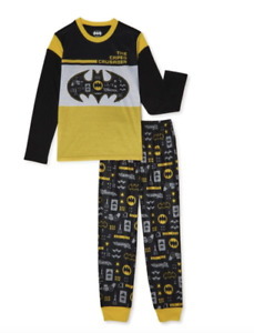 Batman Comics Long Sleeve Pyjamas 2 Pack Nightwear 5-6 Years