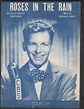 Roses In The Rain 1947 Frank Sinatra Sheet Music