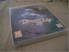 DEMON'S SOULS ps3 UK RELEASE NEW FACTORY SEALED with TEARSTRIP