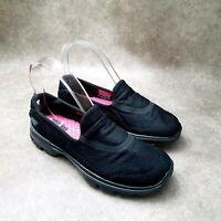 Skechers Womens Go Walk 3 13985 Sz 7 M Black Slip On Loafer Comfort Walking Shoe