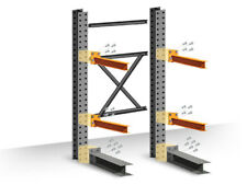 """Cantilever Rack Starter Kit - Single-Sided - 12'H x 60""""D x 48""""W with 5""""H arms"""