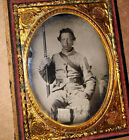 RARE FLORIDA Infantry - Confederate Civil War Soldier - POW, Armed, Identified