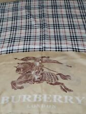 Burberry silk scarf new