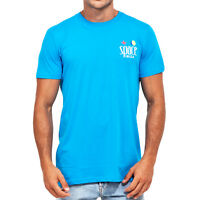 OFFICIAL Space Ibiza Beach Club Logo Men's T-shirt TURQUOISE Small