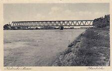 Karlsruhe Maxau AK alt Rheinbrücke Baden-Württemberg 1701526