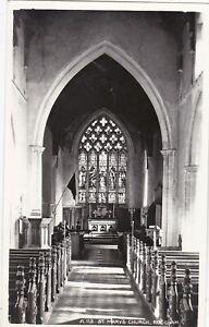 St. Mary's Church Interior, ROUGHAM, Suffolk RP