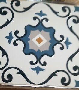 10pc Retro self -Adhesive peel' n stick vinyl floor  TILES 12''x12''