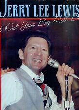 JERRY LEE LEWIS get out your big roll daddy SCR REC 1986 US EX LP